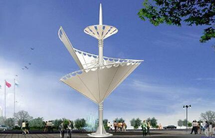 重庆膜布钢结构制作、安装、销售景观棚系列